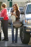 Eva Longoria does some shopping on Robertson