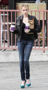 *ADDS* Emma Roberts Getting Coffee in West Hollywood 03/17/11- 17 HQ